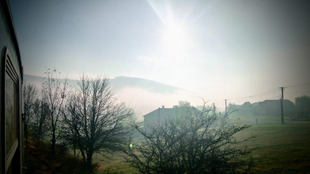 Eplény ködben