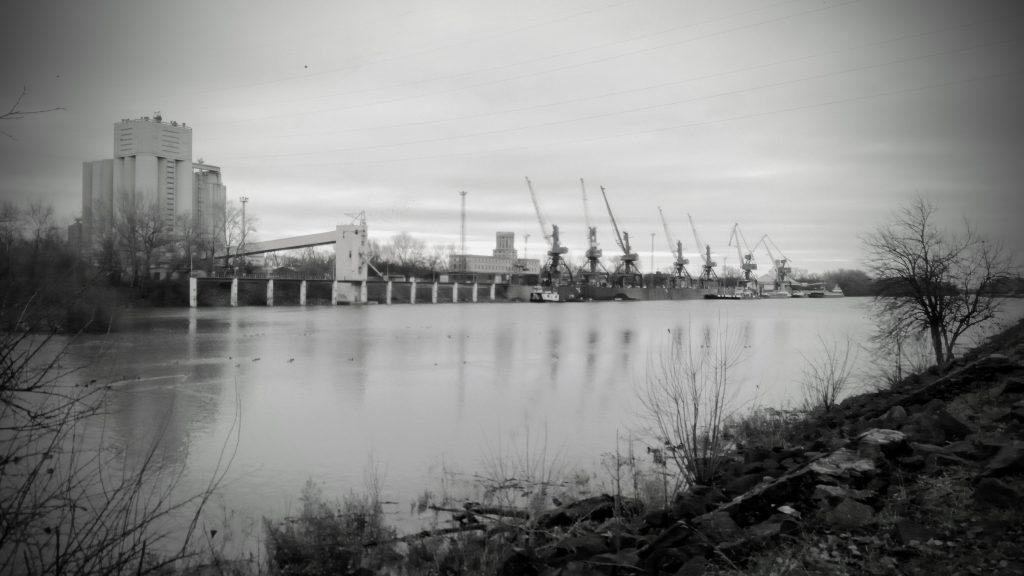 A dunaújvárosi kikötő