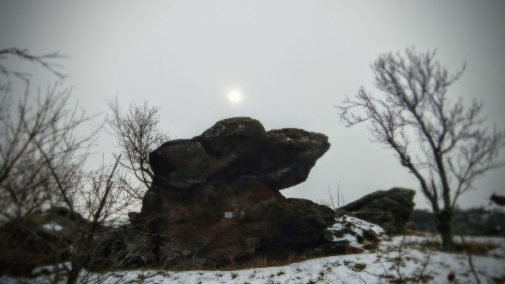 Szélmarta sziklák a Kis-erdő-tető felé