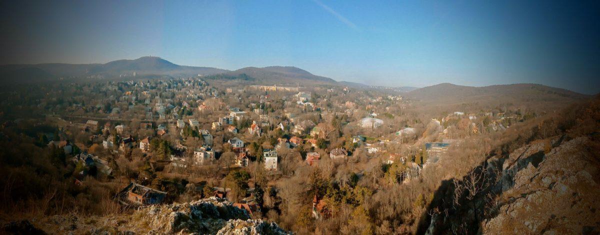 Kilátás az Apáthy-szikláról