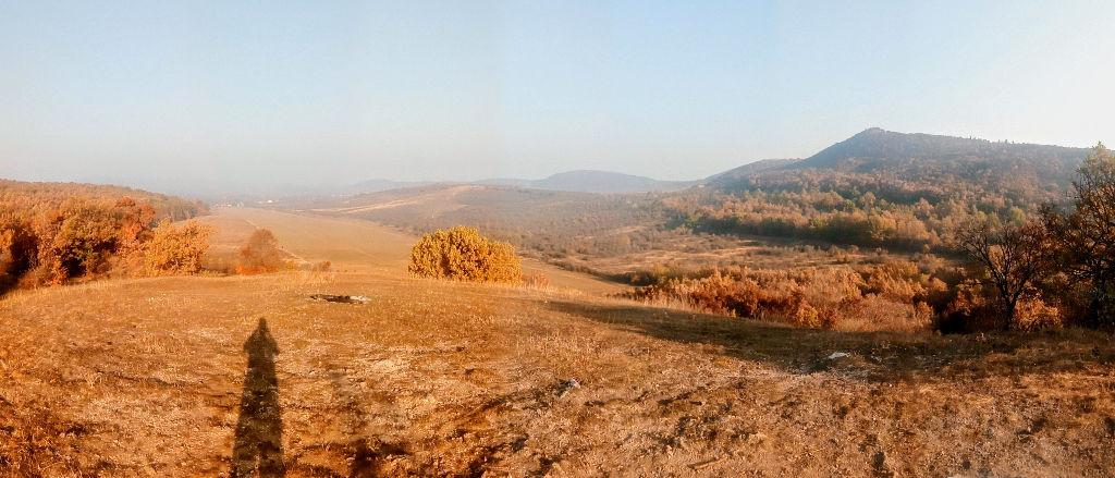 Reggel a Homok-hegyen