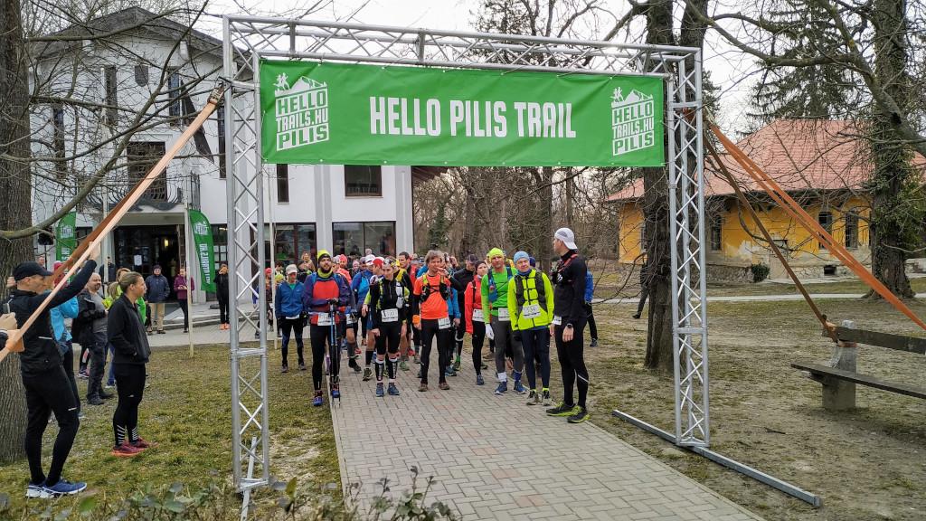 A Hello Fellegvár Trail leányfalui rajtja