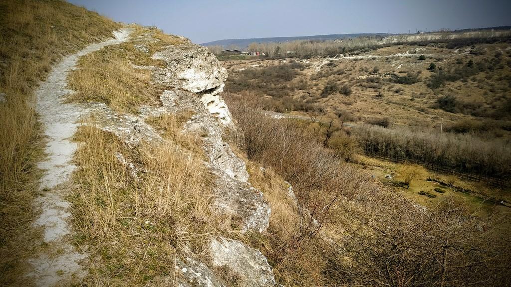 Single track a Kálvária-hegyen