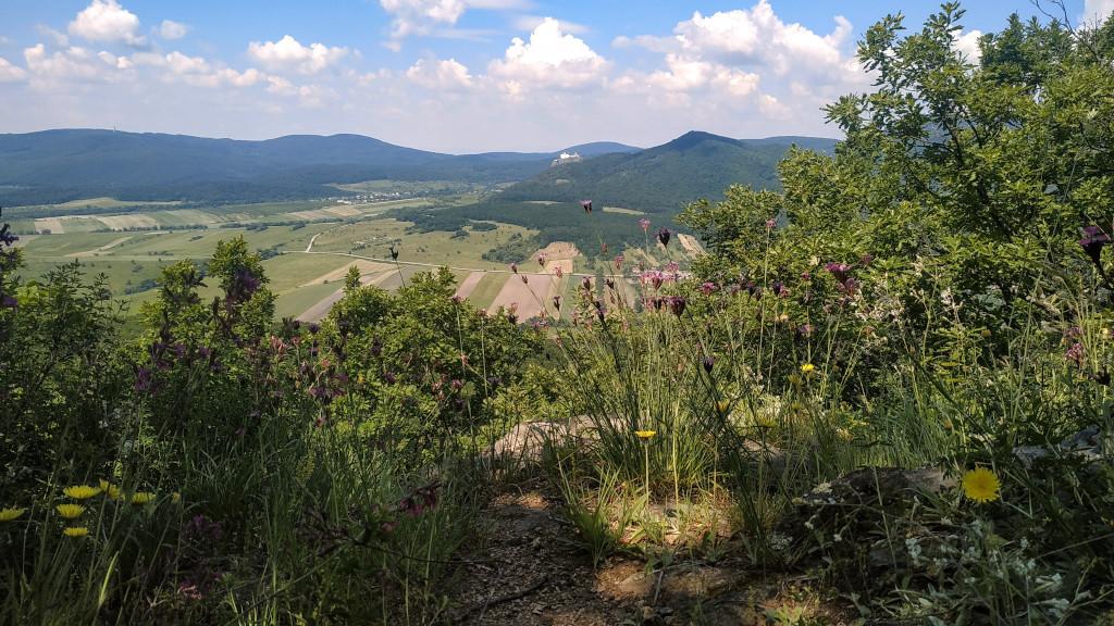 Kilátás a Bába-hegyről